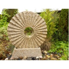RISING SUN FOUNTAIN Beige or Pink Granite