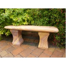 Surrey Rainbow Sandstone Bench