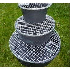 RESERVIOR WITH GALVENIZED STEEL GRID 3 sizes