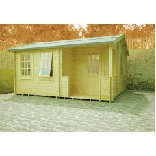 Gyles 44mm Log Cabin