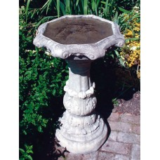 CLASSICAL BIRDBATH ORNATE BOWL ©
