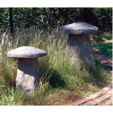 STADDLESTONE ©  36kg   45cm high  LARGE STADDLESTONE © (Both Sold in pairs)